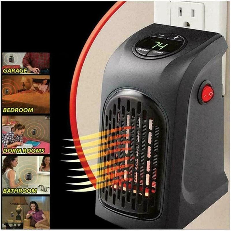 Фото - Удобный Электрический обогреватель, мини-подключаемый электрический вентилятор, офисный домашний обогреватель, удобная бытовая техника, д... бытовая техника electrolux вентилятор напольный eff 1005