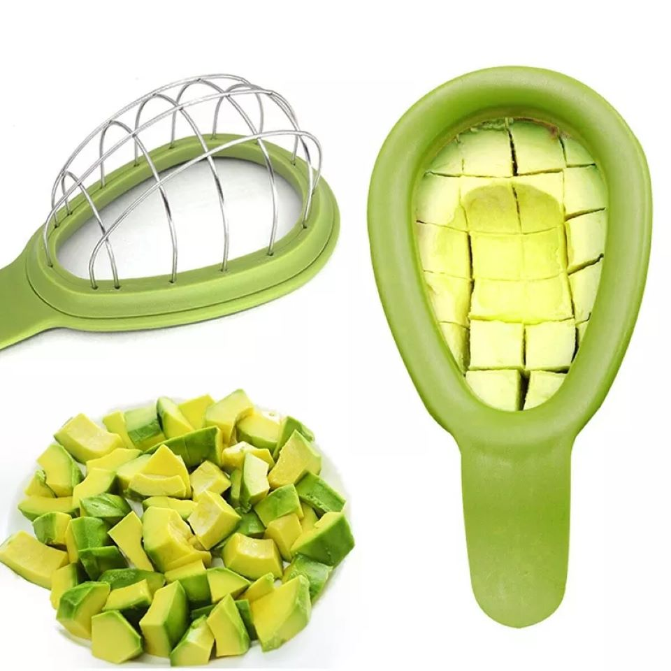 Avocado Cutter Vegetables Mango Slicer Melon Fruits Cutter Cuber Kitchen Hand Tool Gadgets Dice Cube New Avocado Tool Cutter