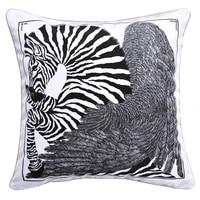 home decorative sofa throw pillows velvet zebra double sided printing home sofa cushion cover hug pillowcase