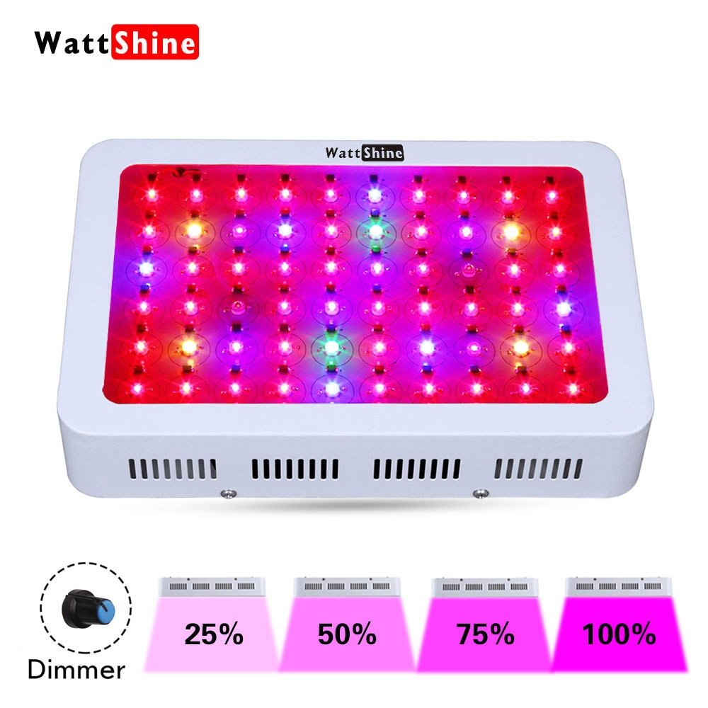 Dimmable LED Grow Light 300W Full Spectrum Leds Chip Phyto Growth Lamp Plant Lighting For Indoor Plant Grow Tent Dimming lamp