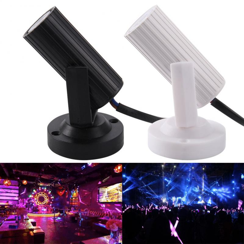 Stage Light Newest RGB Pink/Blue/Red/White LED Beam Spotlight Party DJ Disco Bar KTV Party Moving Head Stage Night Lighting Lamp