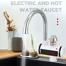 Electric Faucet Instant Heating Fast Heating Water Heater Heating Faucet for Kitchen Bathroom Confor