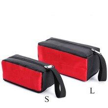 Mini trousse à outils étanche à la main outils Kit Portable Oxford tissu rangement organisateur sacs à main pièces multifonctionnelles sac en toile