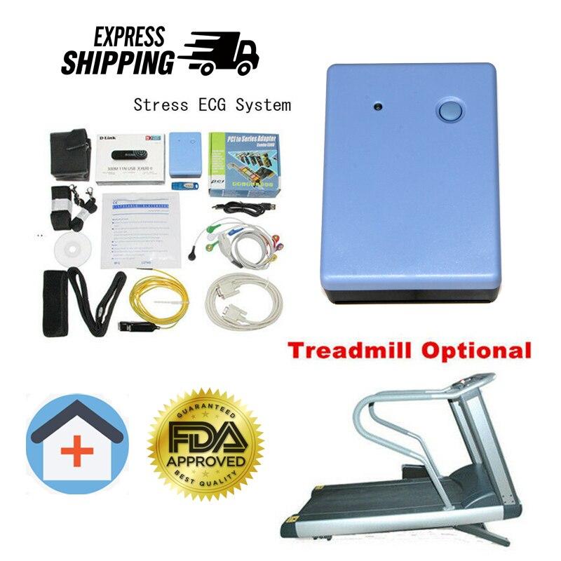 CONTEC 8000s واي فاي اللاسلكية 12 الرصاص نظام اختبار الإجهاد EKG آلة واي فاي البرمجيات تعزيز سعر المصنع بيع