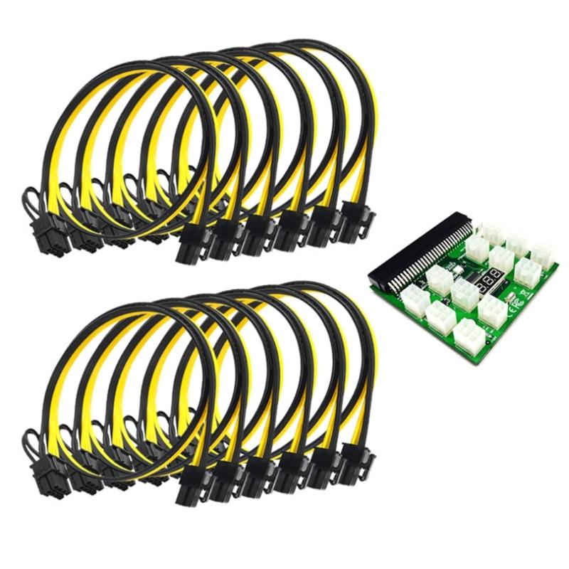 12 منافذ وحدة الطاقة لوحة القطع ل 750 واط 1200 واط PSU خادم تحويل الطاقة المعدات الكهربائية