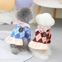 s 2xl autumn winter college style cute print casual warm dog clothes puppy outfit pet cat coat fashion clothing for small dogs
