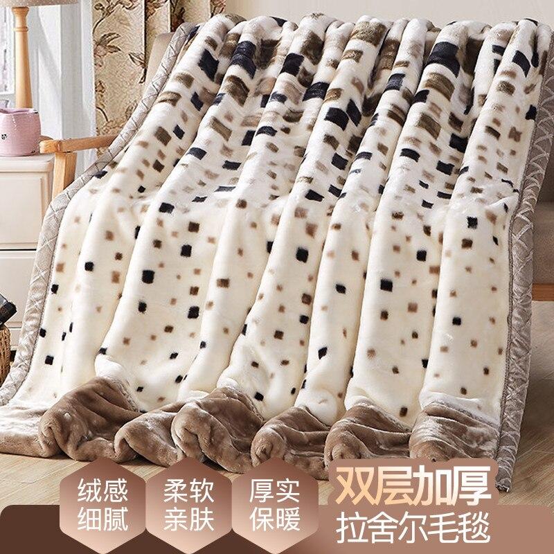 جديد وصول الكرتون نمط مبطن بطانية تكييف الهواء لحاف صيفي خليط المعزي غطاء السرير المفرش حاشية الحصيرة