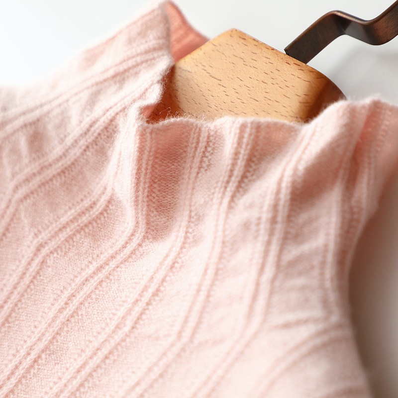 Normcore/Minimalist Turtleneck  Fall Sweaters for Women  Cashmere  Solid  Winter Tops for Women 2020  Womens Knit Sweaters enlarge