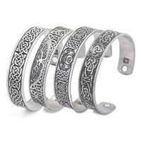 Талисман Skyrim в стиле викингов, браслеты на запястье с узелками «Древо жизни», регулируемый браслет на запястье для мужчин и женщин