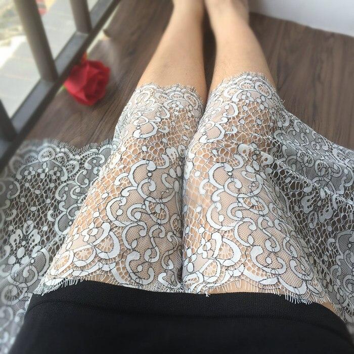35CM Exquisite Hollow Mesh Gauze Bracelet Lace Clothing Fabric DIY Skirt Collar Sleeve Accessories