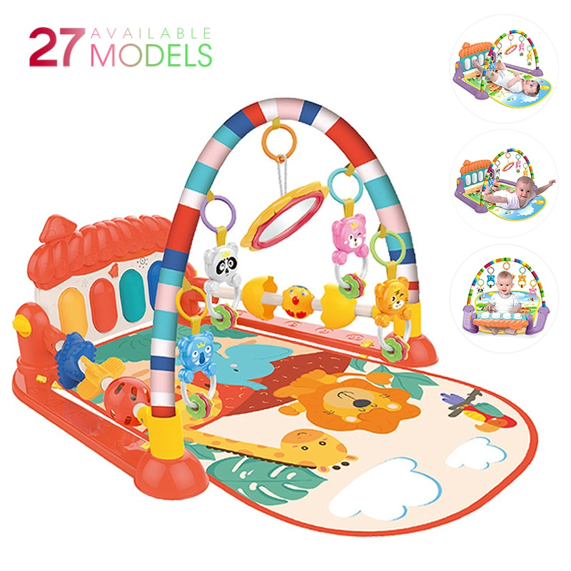 Baby Music Rack Play Mat 27 Styles Kid Rug Puzzle Carpet Piano Keyboard Infant Playmat Crawling Game