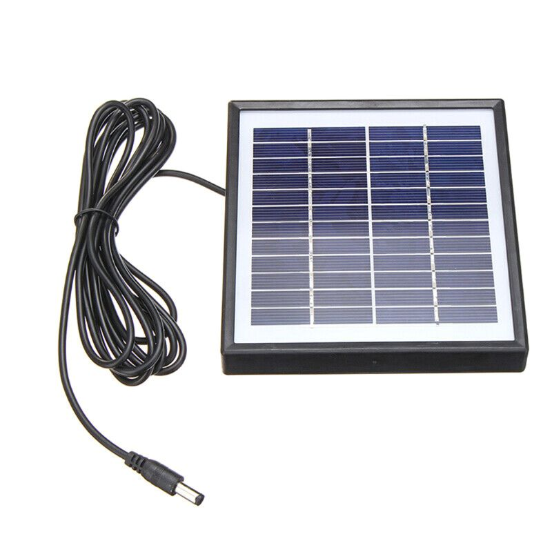 5 w 12 v solarpanel solarmodul solarzelle polykristallin für campismo garten b36a