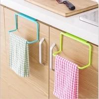 Porte-serviettes en plastique  organisateur de cuisine  armoire de salle de bains  etagere a suspendre  accessoires de fournitures de cuisine