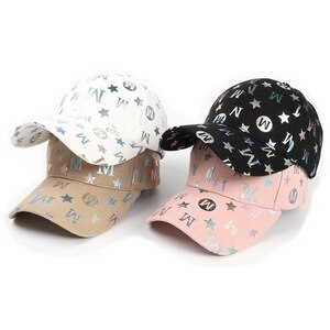 Four Seasons Unisex Baseball Caps Casual Style Cotton Floral Print Adjustable Head Circumference Outdoor Sports Travel Fashion