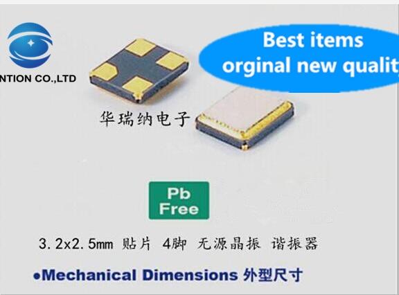 10pcs 100% orginal new TXC T400 40M 40MHZ 40.000MHZ passive patch crystal oscillator wireless network card dedicated 3225