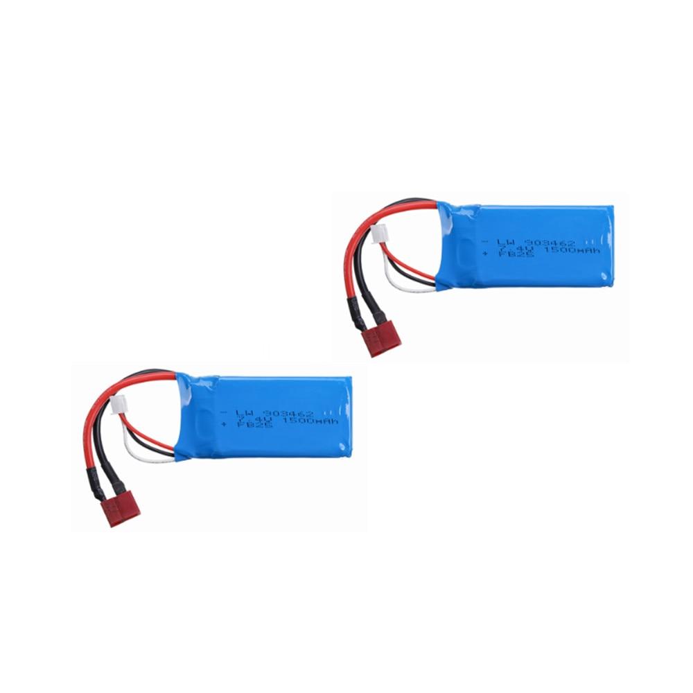 903462 7.4v 1500mah lipo bateria para q39 wltoys 144001 A959-B A969-B A979-B K929-B peças sobresselentes do carro rc 1 pces a 5 pces