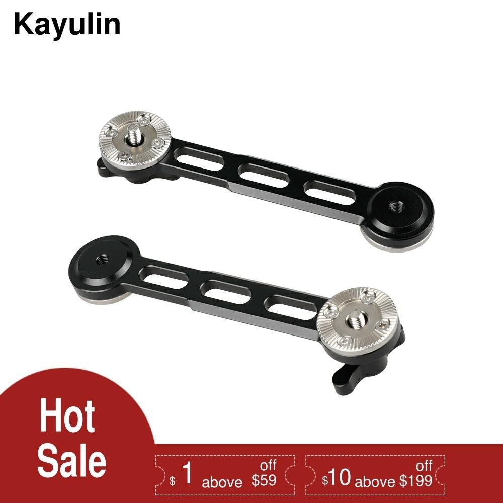 Kayulin الناتو السكك الحديدية M6 روزيت تمديد الذراع الأسود الإبهام لأجهزة أري القياسية روزيت (2 قطعة)