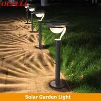 aosong new product solar lawn light outdoor waterproof home garden villa garden led landscape light