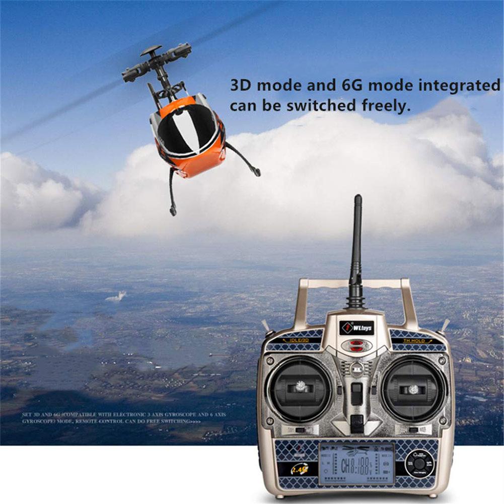 V913 RC هليكوبتر 4CH 3 محور 2.4G المدمج في كاميرا السيارات خلع التحكم عن بعد RC الطائرات بدون طيار تحلق طائرة هليكوبتر