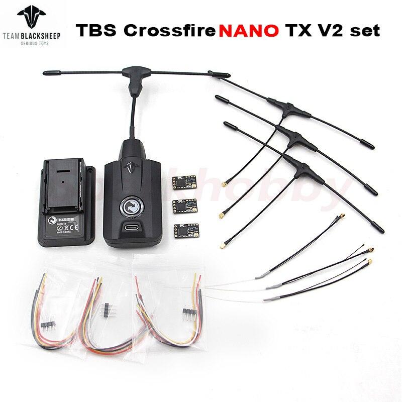 BLACKSHEEP TBS CROSSFIRE NANO TX Starter Set MICRO TX V2 CRSF PPM Protocol 915Mhz Long Range Transmi