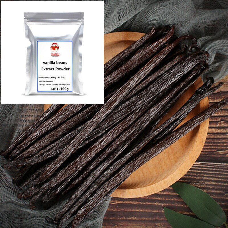High quality Vanilla Beans Extract Powder Natural Vanilla Planifolia Grade A Premium Madagascar Top
