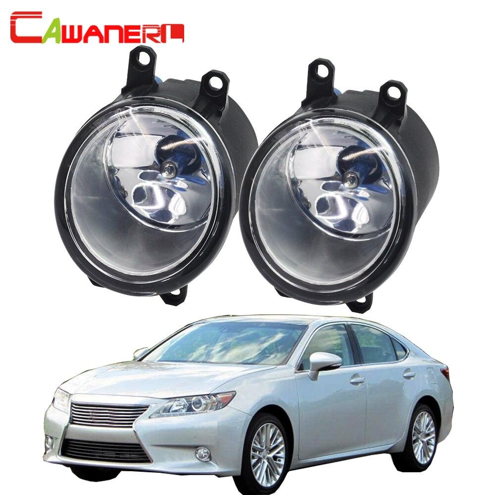 Cawanerl para 2013-2014 Lexus ES300h ES350 100W H11 luz antiniebla halógena DRL 12V alta potencia 2 piezas