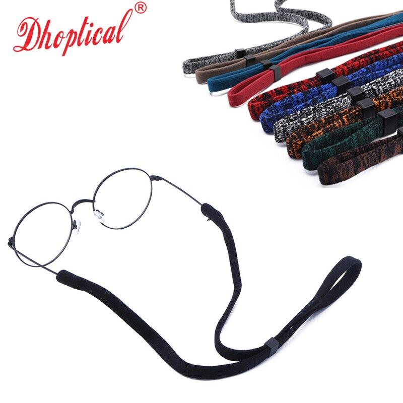 حبل نظارات سهل الارتداء ، 100 قطعة ، حبل نظارات رياضي ملون ، نظارات قراءة