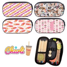 Charli Damelio Kids Stationery Boys Girl Storage Bags Girls Makeup Bag Teens Pencil Case Multifuncti