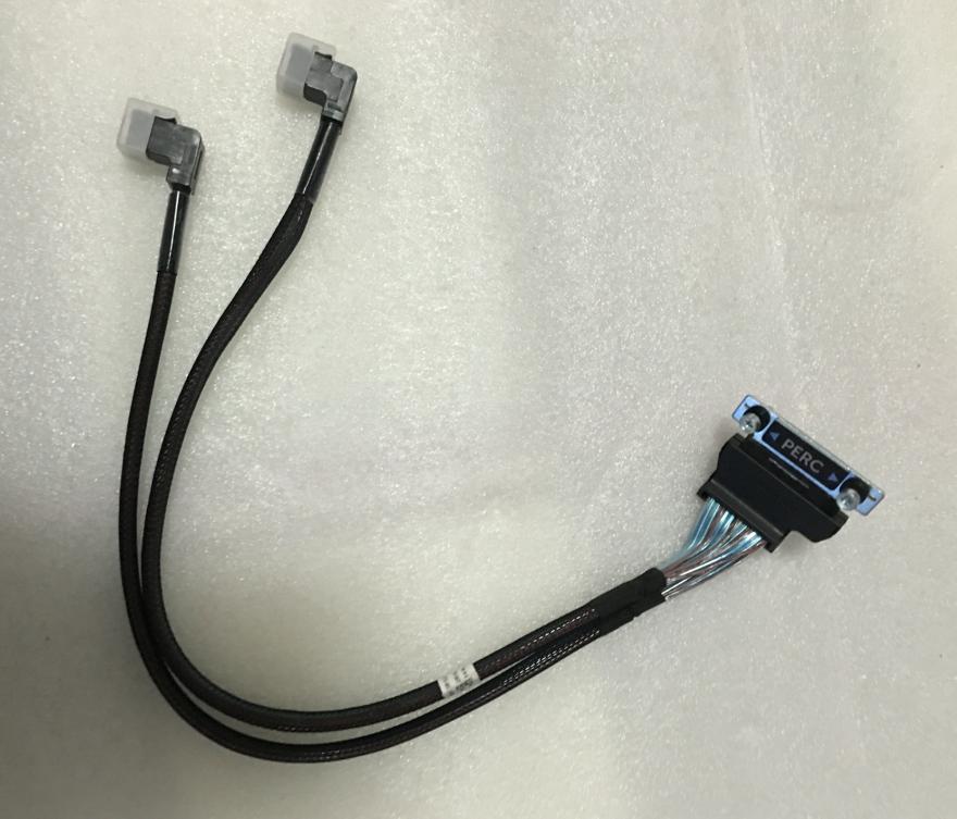 0F7P5J  NEW Genuine FOR  Dell F7P5J SAS TO DUAL MINI SAS CABLE PERC H330 H730 PowerEdge R730 R730xd