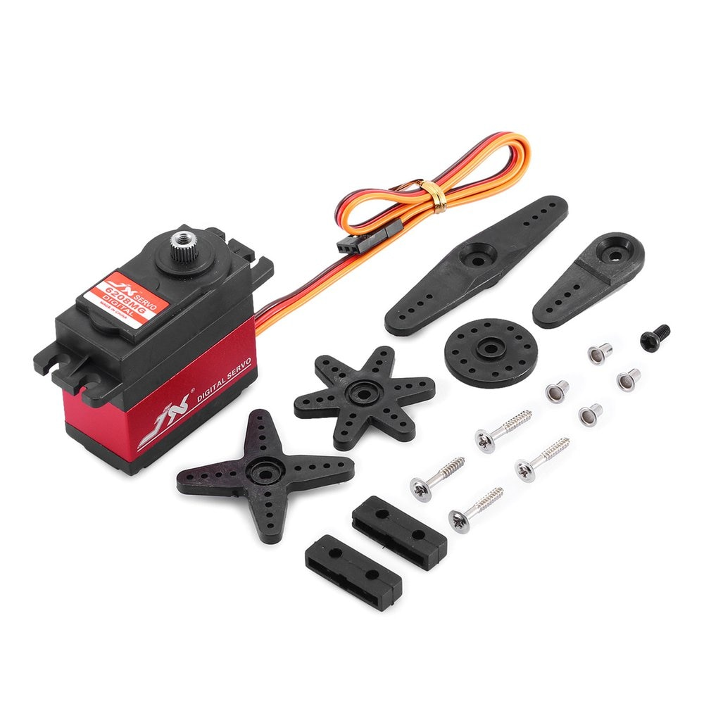 JX PDI-6208MG  Servo 8kg 120 Degrees High Precision Metal Gear Digital Standard Servo Waterproof Steering Gear