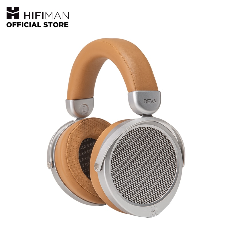 HIFIMAN Deva casque magnétique planaire à dos ouvert pleine grandeur avec Dongle/récepteur Bluetooth, casque dentrée équilibré