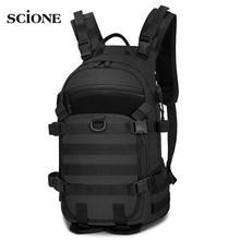 Mochila militar táctica de 25L, mochila para acampar, para hombre, bolsa de senderismo del ejército, bolsa de ciclismo, montañismo, deporte, Camping Molle XA217A