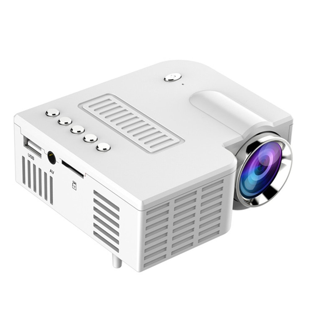 Mini Portable Video Projector LED WiFi Projector UC28C 1080P Video Home Cinema Movie Game Cinema Off