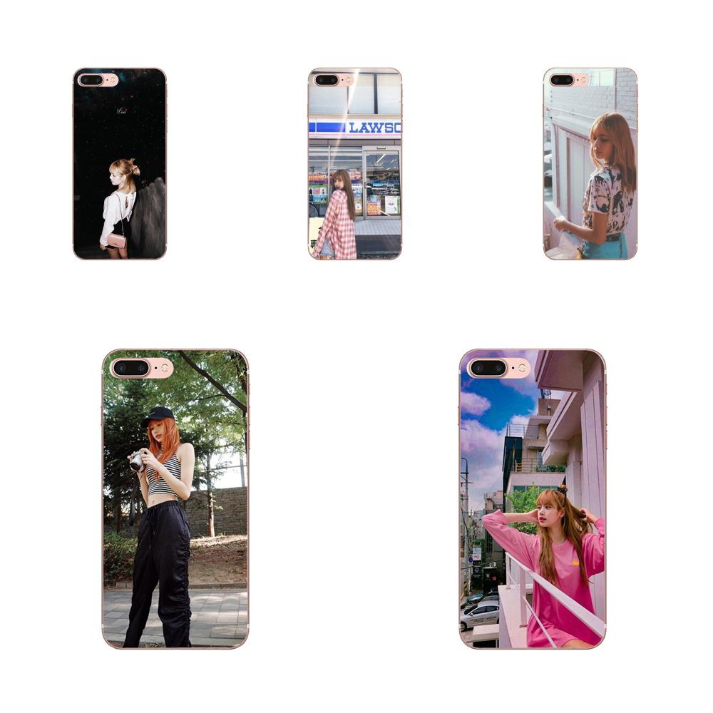 K-pop coreano Blackpink Lisa personalizada para HTC deseo 530, 626, 628, 630, 816, 820, 830 A9 M7 M8 M9 M10 E9 U11 U12 la vida además de