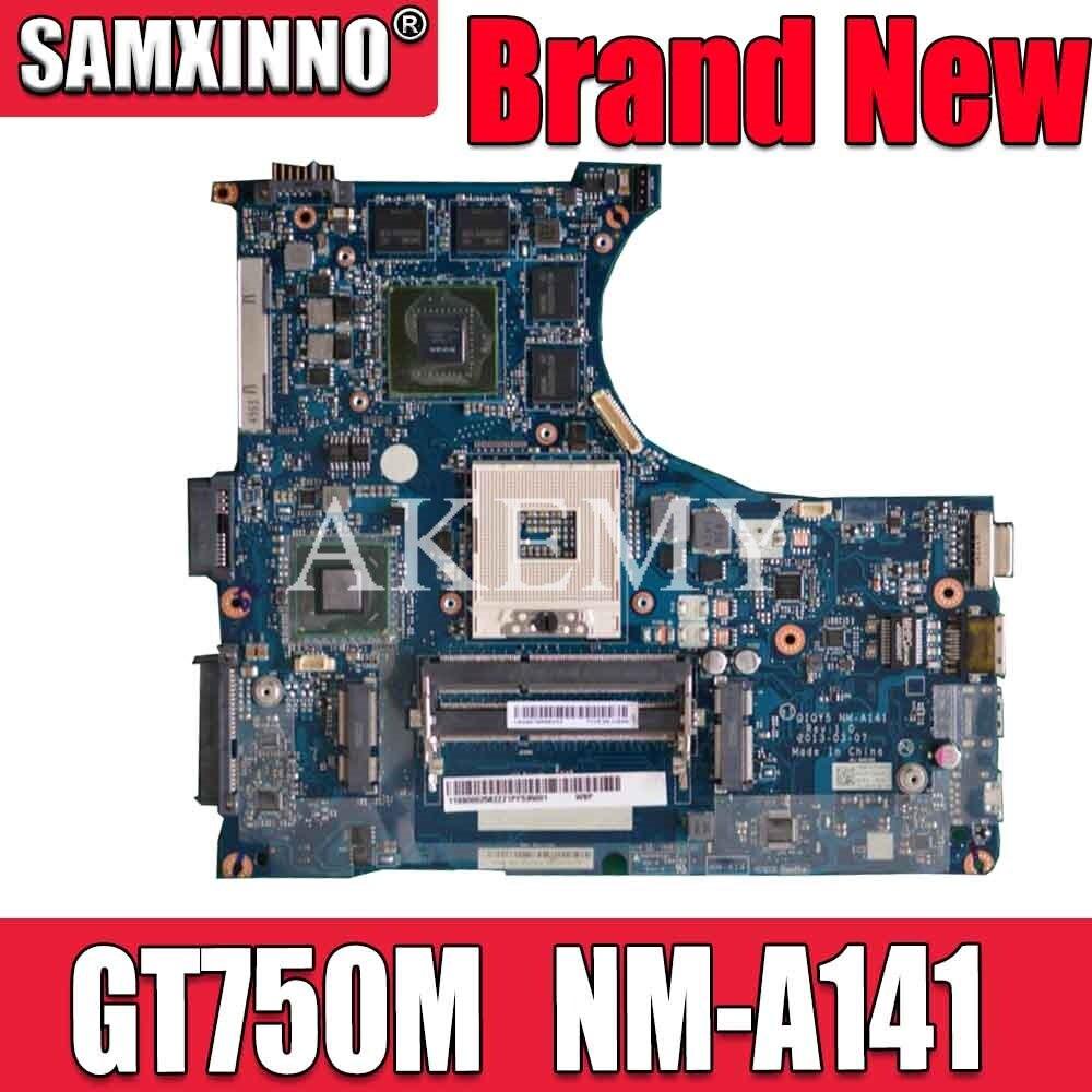 Para For Lenovo y400 portátil placa-mãe 900002563 qiqy5 NM-A141 gt750m gpu hm76 mainboard 100% testado navio rápido