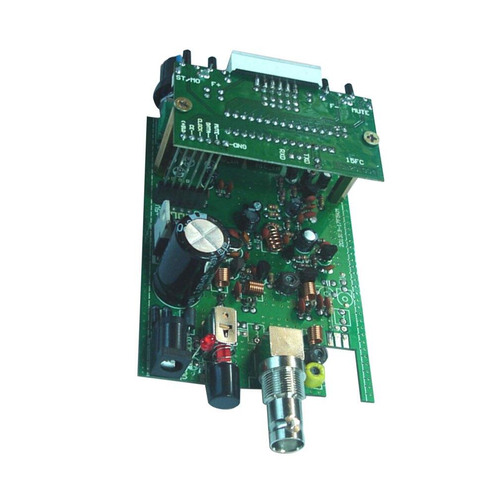 88-108MHz pantalla Digital 200m señal mejorar estación de Radio DC 12V PLL Stereo 0,5 W Home FM Transmisor LED módulo fácil de instalar