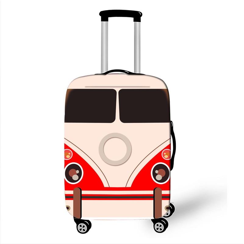 18-32 pulgadas Cool Car/Van accesorios de impresión cubierta de equipaje para niños maletín de chica cubierta protectora bolsa de carretilla elástica