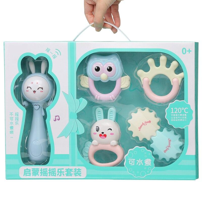 Mordedor para bebés, juguetes para niños de 0 a 12 meses, cascabeles con forma geométrica, cascabeles, bebé, mamás y papás juguetes BB50YL