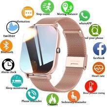 LIGE Fashion Smart Watch donna sport Fitness cardiofrequenzimetro Monitor multifunzionale orologio da donna Smartwatch impermeabile