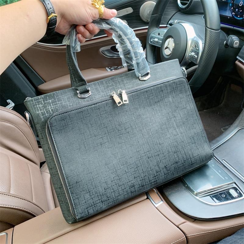 Fashion Women Men Briefcase Business Shoulder Bag Nylon Messenger Bags Computer Laptop Handbag Bag Men Travel Bags Designer Bag