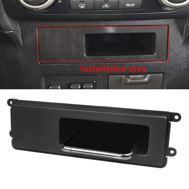 Car Wireless Charger Central Console Storage Box Fast Charging Panel for Mitsubishi Outlander 2015- Pajero -