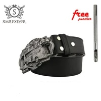 fire fighters mens vintage western cowboy belt buckle head fashion zinc alloy belt buckle with belt as gifts