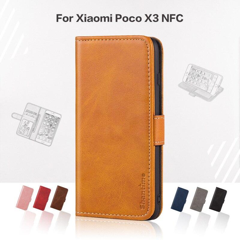 LS فليب غطاء Xiaomi بوكو X3 NFC حالة ل Redmi ملاحظة 8 9 الموالية ملاحظة 10 لايت CC9E مي مزيج 3 Pocco X3 NFC محفظة حالة ل بطاقات منزل