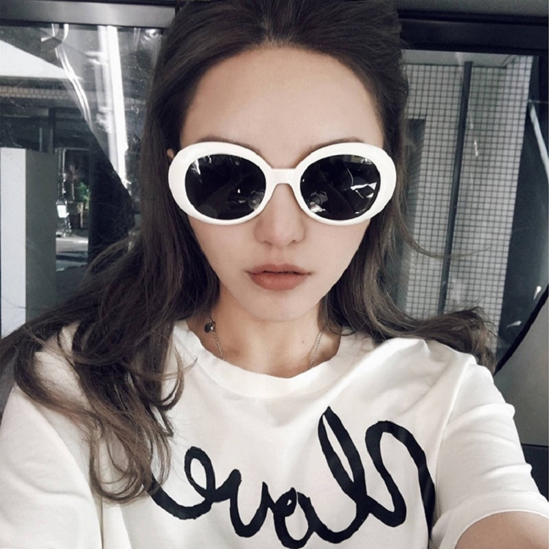 Round Shades Retro Sunglass Lunette Frame Sun Glasses Vintage Eyeglasses Women Men Glasses Fashion O