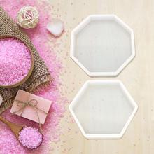 Molde de silicona, molde de estilo geométrico nórdico, juego de mesa DIY, molde de yeso para aromaterapia, molde de decoración de coche, molde de silicona para hormigón
