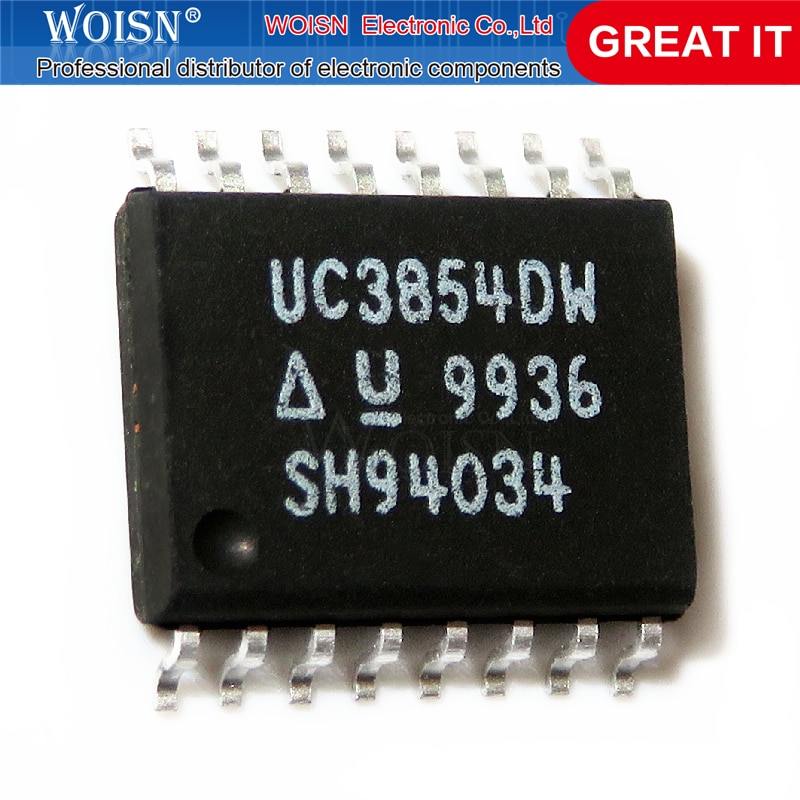 5 pçs/lote UC3854DW UC3854DWTR UC3854 SOP-16 Em Estoque