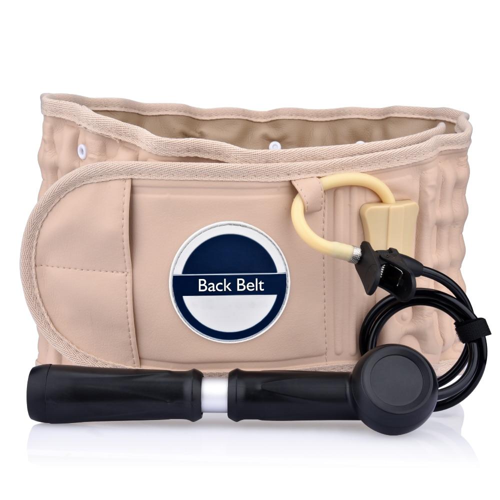 Поддерживающий Пояс для ухода за физио-декомпрессия для облегчения спины поясничная тяга боли в спине инструмент для ухода за болью для род...