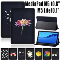 for huawei mediapad m5 lite 10 1 inchmediapad m5 10 8 inch tablet case daisy series stand cover case free stylus