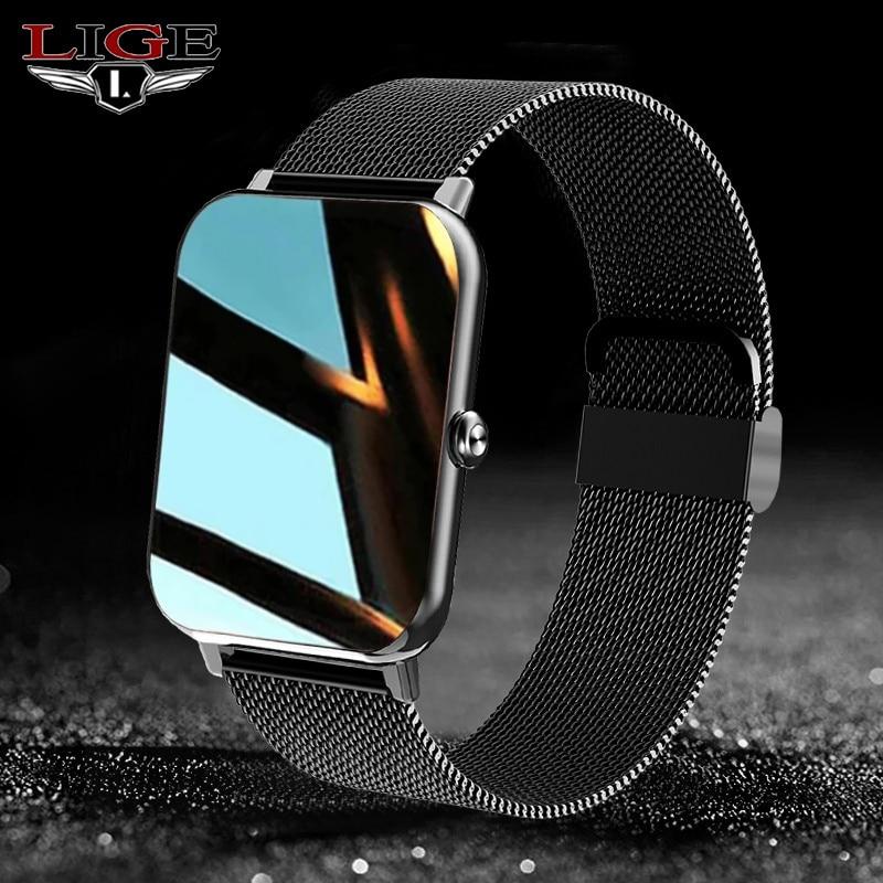 2021 LIGE New Smart Watch Men 1.69