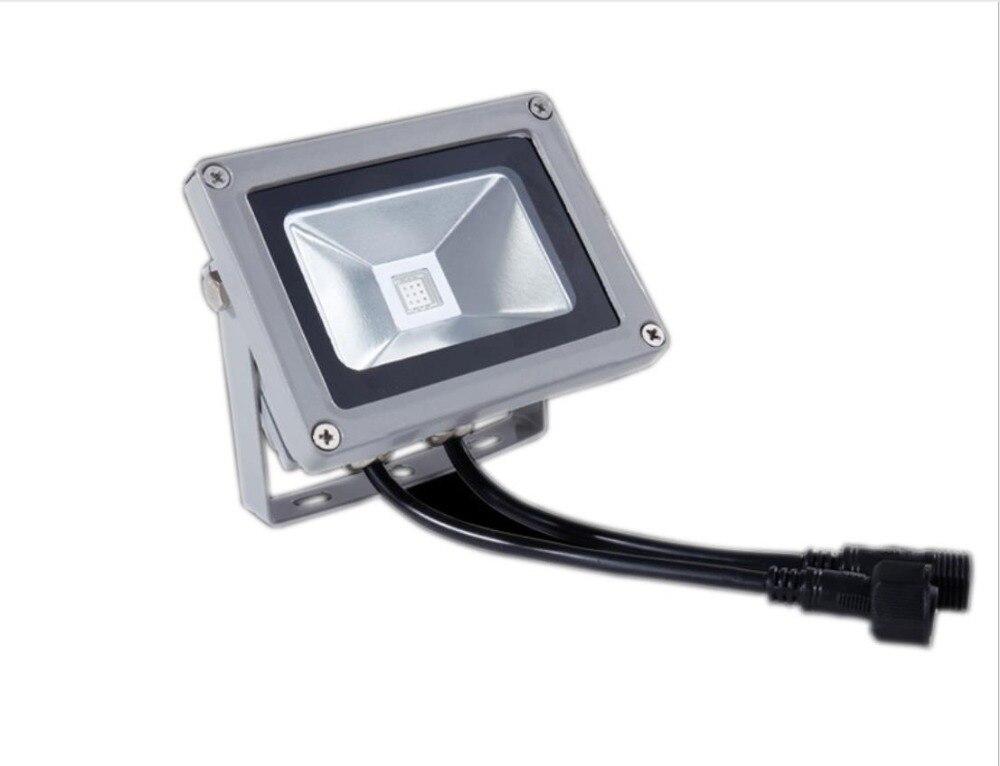 24 V 10 W 20 w 30 w 50 w RGB DMX LED كشاف ضوء مصباح في الهواء الطلق DMX512 التحكم في الهواء الطلق الجدار LED الكاشف المناظر الطبيعية بقعة